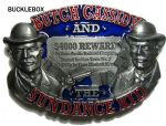 Butch Cassidy and the Sundance Kid Belt Buckle + display stand